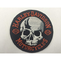 Parche Harley Davidson Skull Parche Biker