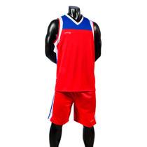Uniforme Basketball Rojo-rey Short/calcetas Galgo