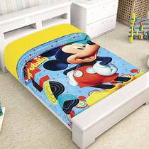 Mickey Mouse Mim Frazada Cunero Cobertor Bebe Ligero 1.10*90
