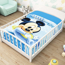 Mickey Mouse Bb Frazada Cunero Cobertor Bebe Ligero 1.10*90