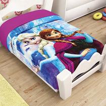 Elsa Frozen Disn Frazada Cunero Cobertor Bebe Ligero 1.10*90