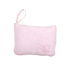 Frazada + Almohada Viajera 2 En 1 Bebe Niña Rosa Baby Mink