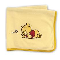 Frazadas Chiqui Fleece De Chiquimundo, Pooh, Baby Blue,sp0