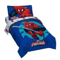 Juego De Cama Marvel Spider Man Classic Niño