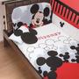 Set De Edredon Cuna Mickey Mn4