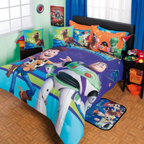 Toy Story Edredon Cojin Colcha Ninos 9pc Matrimonial Woody