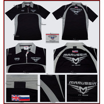 Playera Polo Marussia F1 Team Jules Biachi Color Negro