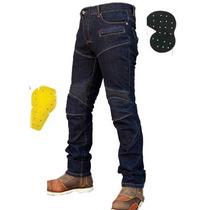 Pantalon Jeans Protecciones Motociclismo Komine No Dainese
