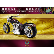 Pintura House Of Kolor Flamas Kandys Chopper Candys