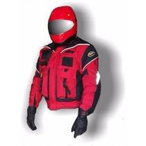 Envio Gratis. Cham Para Motociclista Con Protecciones Mod C3
