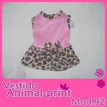 Vestido Y Chamarra Animal Para Perritas,tu Mascota Lucira!!