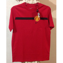 Nike Manchester United Playera Niño L Clubes Futbol Soccer