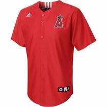 Jersey Juvenil Adidas De Los Anaheim Angels Mlb