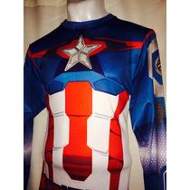 Playera Del Capitán América Under Armour