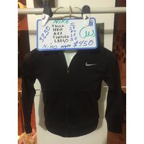 Sudadera Nike Negra Nueva Para Niño Talla S 3250