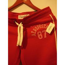 Pants Deportivo Mujer Aeropostal (rojo) Capri !!!!!!!!