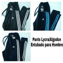 Pants Lycra/algodón Entubado Para Entrenar, Gym, Crossfit