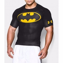 Playera Alter Ego Under Armour Dc Comic Batman Clasica