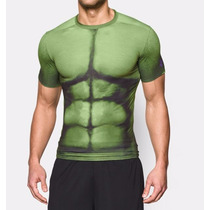 Playera Alter Ego Under Armour Marvel Avengers 2 Hulk