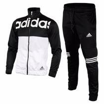 Pants Conjunto Deportivo Adidas Caballero Originales