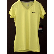 Playera Nike Pro Dri Fit, L Competition Base Layer. Neón