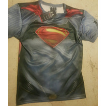 Playera Under Armour Superman Vs Batman 3 Modelos Dc Comic