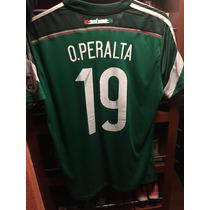 Jersey México Oribe Peralta Versión Jugador Adizero !! Bra14