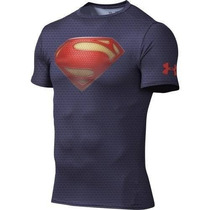Playera Alter Ego Under Armour Marvel Dc Comic Superman