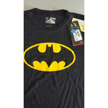 Playera Under Armour Batman Xl Niño Ch Adulto