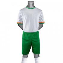Uniforme Futbol Irlanda 2016 Juvenil Completo Galgo