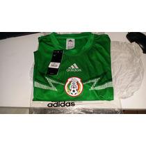 Playera Jersey De La Seleccion Mexicana Original Adidas 2014