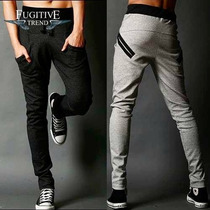 Nuevo Modelo Pants Harem Baggy Jogging Pocket
