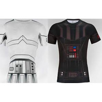 Playera Under Armour Star Wars Darth Valer Stormtroopers