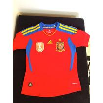 Playera Adidas España Campeon Del Mundo 2010 Xs Dama-niño