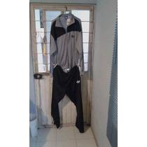 Conjunto Pants Adidas Retro Negro-plata Ex-large Poco Neg.
