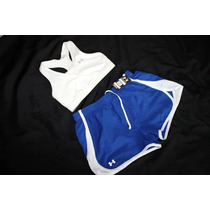 Under Armour Set Deportivo Short Y Top Correr Talla Chica
