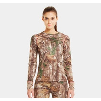 Blusa Under Armour Camuflaje Real Tree Original Nuevo Modelo