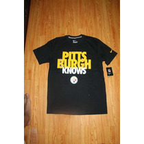 Playera Nike Steelers Nfl Pittsburgh Knows Talla M, L, Xl