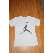 Playera Nike Jordan Air Jordan Silver Blanca Talla Xl (20)