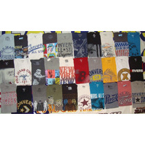 Lote 50 Playeras Old Navy Converse Gap Ralph Lauren Y +...