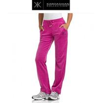 Pants 22w 2x Xxl Kardashian Collection Rosa Velour Stretch