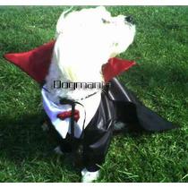 Conde Dracula Disfraz Halloween Para Perro Talla Cuatro