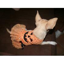 Ropa Para Perro, Disfraz De Calabaza Tu Mascota Luci Nvd