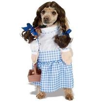 Disfraz Para Perro Mago De Oz Dorothy Traje De Mascotas Azu
