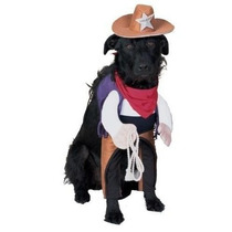 Disfraz Para Perro Sheriff Del Traje De Mascotas Pequeño