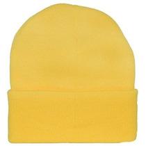 Amarillo Knit Cap Beanie / Minion Amarillo