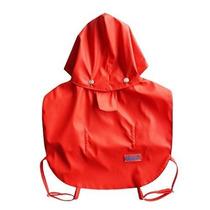Impermeable Para Perro Pawow Two-layer Fashion Pet Rainy Da