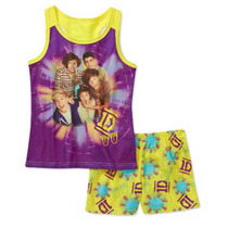 Pijama 6 Anos One Direction Nina Playera Shorts 1d Padrisima
