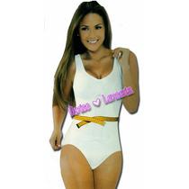 Faja Body Siluette Body Corte Frances Con Top Reduce 2 Talla