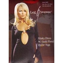 Vestido Slinky Leg Avenue Color Rojo Bbf